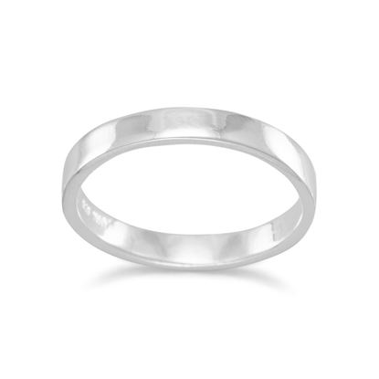 Picture of 3mm Polished Square Band Ring