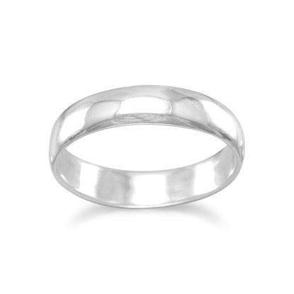 Picture of 4mm Polished Solid Band Ring