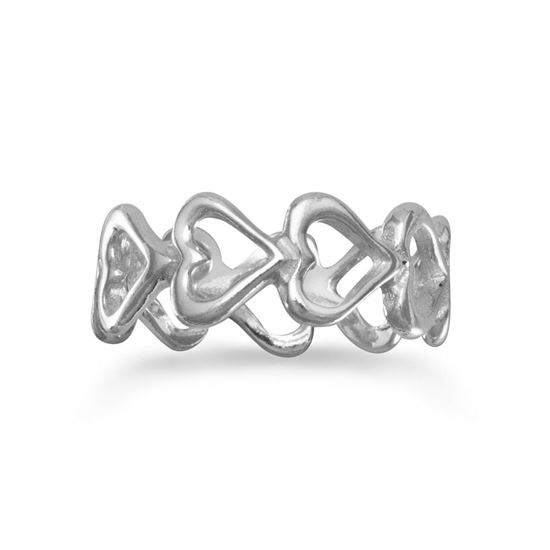 Picture of Cut Out Heart Band Ring