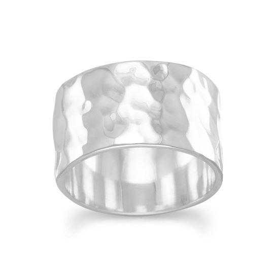 Picture of 11mm Hammered Band Ring