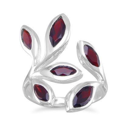 Picture of Wrap Around Garnet Ring