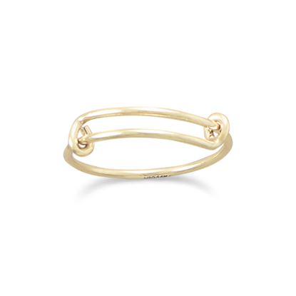 Picture of 14/20 Gold Filled Expandable Add-a-Charm Ring