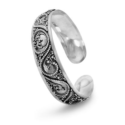 Picture of Cuff with Bead Filigree Design
