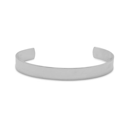 Picture of 9.5mm Polished Cuff Bracelet