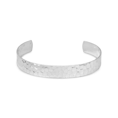 Picture of 9.5mm Hammered Cuff