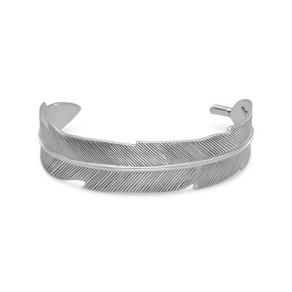 Picture of Oxidized Feather Cuff Bracelet