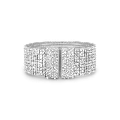 Picture of Glamorous Crystal Flex Cuff Fashion Bracelet